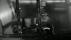 Close Up Machinery Stock Footage