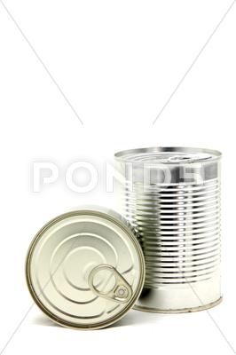 Stock photo of aluminum metal can
