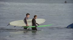 Surfers Point Clip 6 Stock Footage