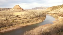 Time-lapse abiquiu new mexico - Georgia O'Keeffe Stock Footage