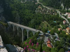 FR RIVIERA EZE 30 Stock Footage