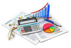 Stock Illustration of Finance and accounting concept