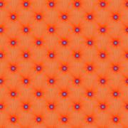 Tangerine Color Explosion tiled Stock Illustration