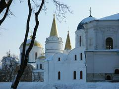 Stock Photo of ancient Orthodox Cathedral of the tenth century