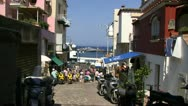 Stock Video Footage of shopping in capri