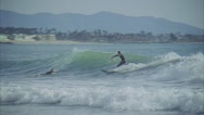 Stock Video Footage of Surfers Point Clip 14