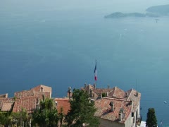 FR RIVIERA EZE 02 Stock Footage
