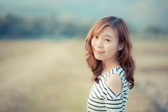Beautiful female Stock Photos