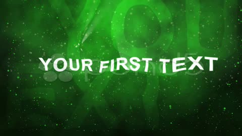 After Effects Project - Pond5 intro wavy text 21437563