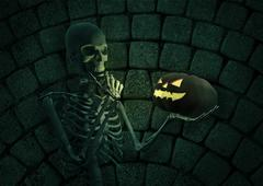 To trick or treat - stock illustration