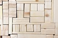 Stock Photo of Wood blocks background