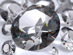 Diamonds - stock illustration