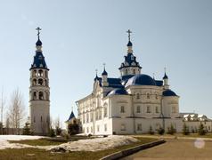 Monastery. - stock photo