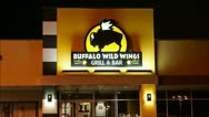 Stock Video Footage of Buffalo Wild Wings loop