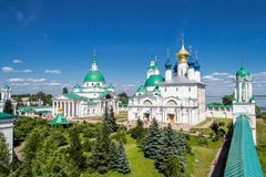 Monastery in rostov the great Stock Photos