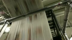 rotary press project - stock footage