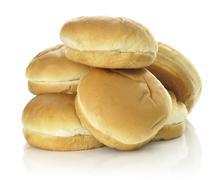 Hamburger buns Stock Photos