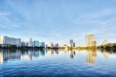Orlando in the Morning. Stock Photos