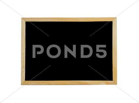 Stock photo of black board