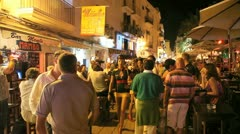 Ibiza Bar nights Stock Footage