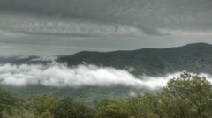 Blue Ridge Parkway Time lapse - stock footage