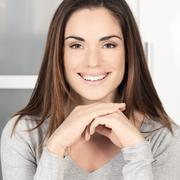 Stock Photo of happy smiling woman