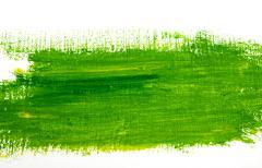 Green Paint Stroke Stock Photos