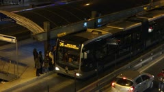 Public Transportation in Istanbul (Editorial) - stock footage