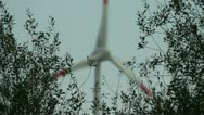 Stock Video Footage of Windenergy Germany