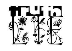 Truth - lie Stock Illustration