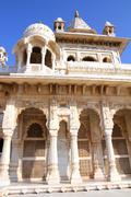Jaswant thada mausoleum in india Stock Photos