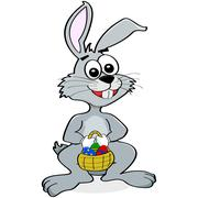 easter bunny - stock illustration