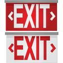 Stock Illustration of exit signs