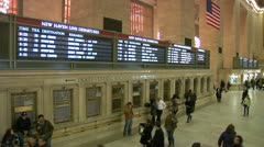 LP GrandCentral 13 (2 views) Stock Footage