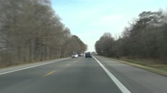 Driving in Maryland Stock Footage