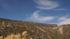 New mexico scenic landscape usa Stock Footage