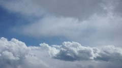 Cumulus clouds Stock Footage