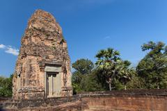 Ancient temple banteay kdei in angkor complex Stock Photos