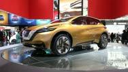 Nissan Resonance Concept Crossover SUV Stock Footage