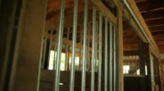 Horses in Stalls Stock Footage