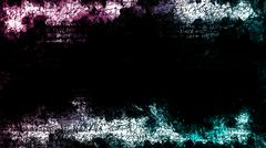 abstract graffiti grunge background - stock illustration