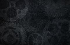 Wall of gears background Stock Illustration