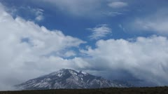 Taos mountains new mexico time-lapse Stock Footage