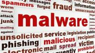 Stock Video Footage of Malicious malware warning message