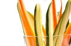 Fresh pinzimonio snack appetizer Stock Photos