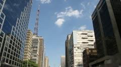 Avenida Paulista - stock footage