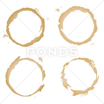 Stock Illustration of coffee stain