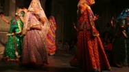 Stock Video Footage of Dances of India - view in Udaipur Rajasthan