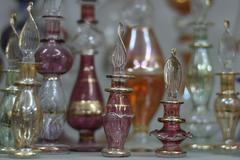 Stock Photo of fashion design bottle perfume flasks cosmetics