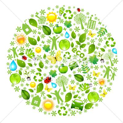 Stock Illustration of eco globe